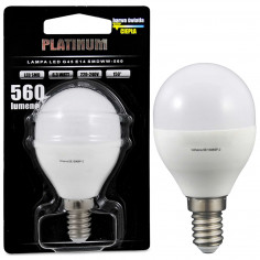Żarówka PLATINUM 303936 Polux E14 G45 LED 6,3W 560 lm 230V kulka biała ciepła 3000K