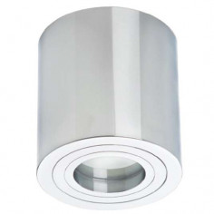Downlight LAMPA sufitowa FARO LP-1464/1SM XL CH Light Prestige metalowa OPRAWA tuba natynkowa chrom