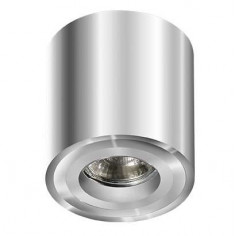 Spot LAMPA sufitowa MINI BROSS GM4000 CH Azzardo natynkowa OPRAWA metalowa DOWNLIGHT tuba chrom